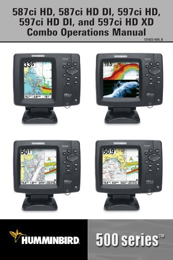 Download Product Manual - Humminbird