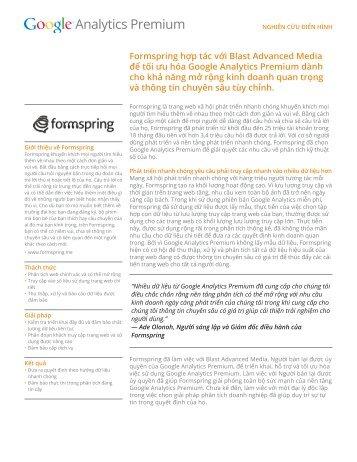Formspring hợp tác với Blast Advanced Media để tối ưu hóa Google ...