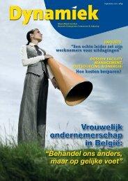 Vrouwelijk ondernemerschap in België: - BECI