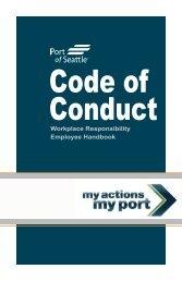 Workplace Responsibility Employee Handbook - Port of Seattle