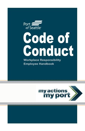 Workplace Responsibility Employee Handbook - Port of Seattle