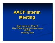 Microsoft PowerPoint - IM09 MARCHAND - AACP