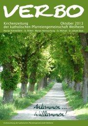 Kirchenzeitung Oktober 2013 der katholischen ...