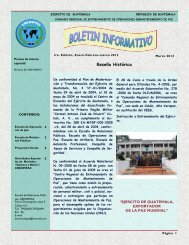 Boletín Informativo CREOMPAZ 2012. - Ministerio de la Defensa de ...