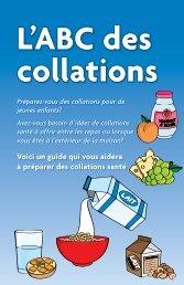 Voici un guide qui vous aidera à préparer des ... - Teach Nutrition