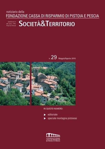 n.29 - Maggio/Agosto 2010 - Fondazione Cassa di Risparmio di ...