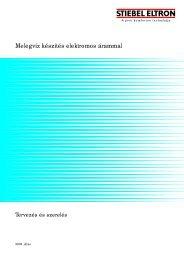 Melegvíz készítés elektromos árammal - Stiebel Eltron