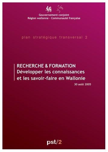 Plan stratégique transversal 2 - Awt