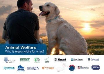 1 Animal welfare - who is responsible