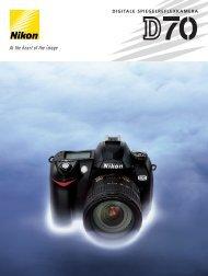 DIGITALE SPIEGELREFLEXKAMERA - Nikon