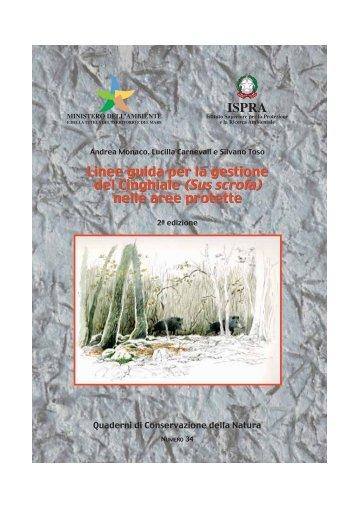Linee guida per la gestione del Cinghiale - Ambiente e Territorio