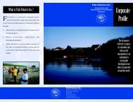 FF Corporate Profile Brochure 2002 - Fish Futures