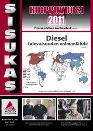 Sisukas - henkilöstölehti N:o 1/2012 - AGCO Power