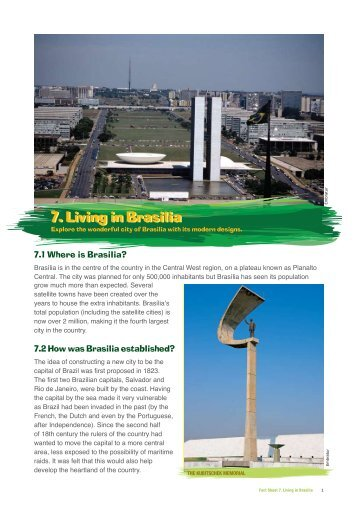 Living in Brasilia