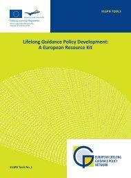 Lifelong Guidance Policy Development: A European Resource Kit