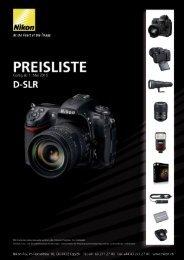 preisliste - Nikon