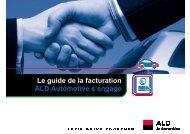 Le guide de la facturation ALD Automotive s'engage
