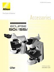 Simple Polarizing Accessories - Nikon Instruments