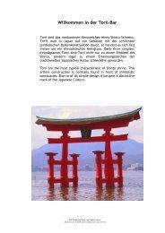 Willkommen in der Torii-Bar - Hotel Nikko