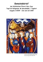 Gemeindebrief Juni-Juli 2009 mit Bild NEU - Katholische ...