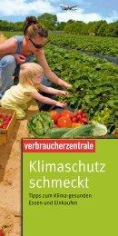 Klimaschutz schmeckt - Verbraucherzentrale Sachsen