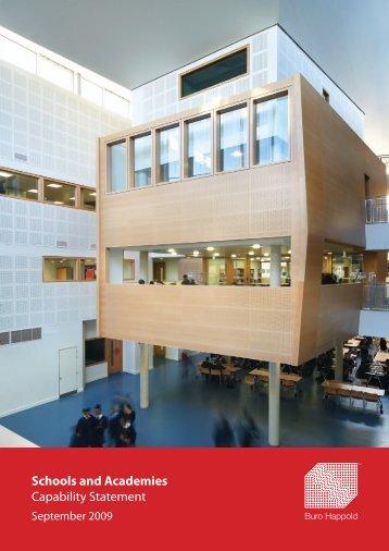 Schools and Academies Capability Statement - Buro Happold