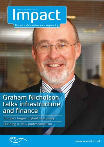 Graham Nicholson talks infrastructure and finance - Association for ...