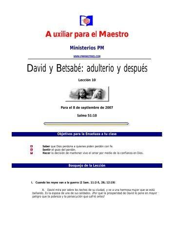 Maestro PDF - Ministerios PM