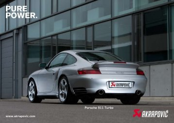 Porsche 911 Turbo - GP Products