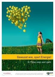 Gewusst wie, spart Energie!