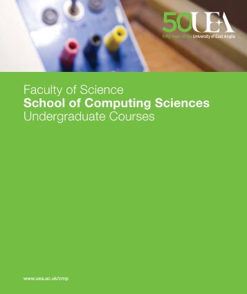 Faculty of Science School of Computing Sciences Undergraduate ...