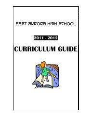 CURRICULUM GUIDE - East Aurora Union Free School