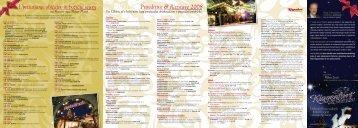 Prireditive & Razstave 2008 Uprizarjanje obicajev in bozicˇni sejem