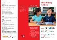 geht's zum Flyer - Schule und Elternhaus Schweiz