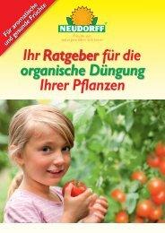 Den Neudorff Ratgeber für Düngung als PDF-Datei downloaden
