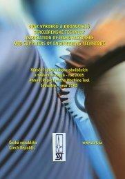 Výroční zpráva 2005 - Svaz strojírenské technologie