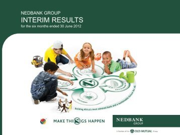 INTERIM RESULTS - Nedbank Group Limited