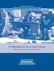 El Desarrollo de la Creatividad - CREA - Universidad UNIACC
