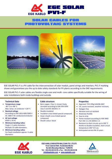 Ege Solar Pv1 F Solar Bazaar