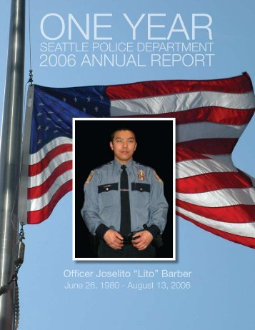 2006 ANNUAL REPORT - City of Seattle