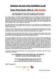 bungay black dog running club - Suffolk County Athletics Association