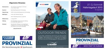 OUTDOOR TRENDS - LAV Husum