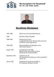 Beruflicher Werdegang - architekten24.de