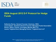 Download the Slides (PDF) - ISDA