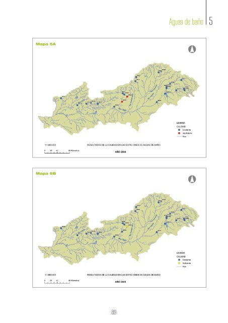 Control adicional de las zonas protegidas en aguas superficiales de ...