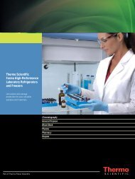 Thermo Scientific Forma High-Performance ... - Sapaco 2000