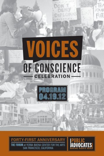 2012 Program Booklet PDF - Public Advocates Inc.