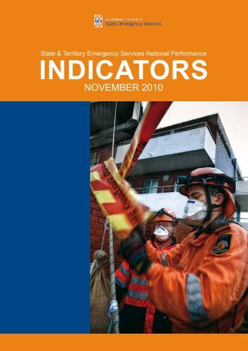 State and Territory Emergency Service National Performance Indicator