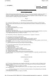 Lei Orgânica de Massaranduba - IOBV