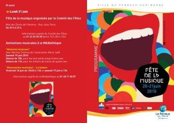 a4 fete musique 2010:Mise en page 1 - Le Perreux-sur-Marne
